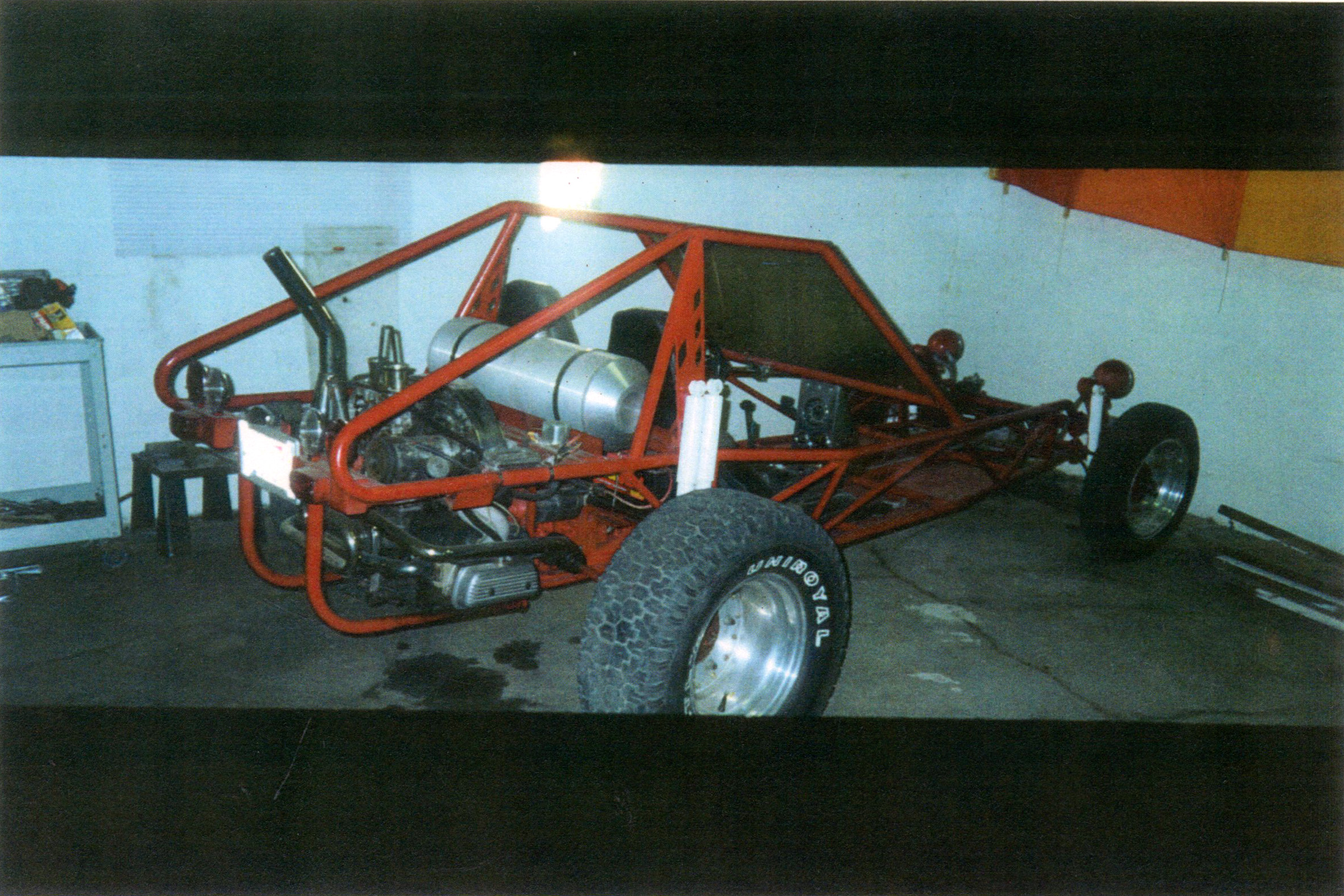 Mark built this dune buggy he is an auto union mechanic and has been a